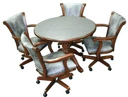 rolling dining room chairs attractive wonderful wheeled dining chair chairs on casters with