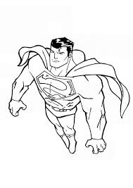 printable pictures batman colouring pages 8 superman flying