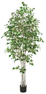 artificial birch trees with lights white birch trees 7 or 9 tall artificial birch trees online
