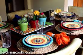 Formal Table Setting Setting The Table For A Fiesta Heidikins Cooks