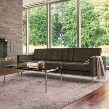 florence knoll rectangular coffee table by knoll yliving