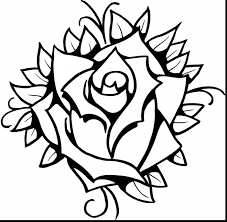 astonishing printable rose coloring pages with coloring pages of
