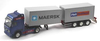trailer volvo www scalemodels de volvo fh16 with nooteboom flexi trailer