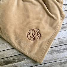 personalized wedding blanket custom cheer c cheer bow from posh boutique posh