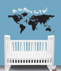 the places you seuss inspired nursery wall decal quote the places you seuss inspired nursery wall decal quote crib bedding