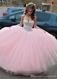 quinceanera dresses 2016 2016 new crystals quinceanera dresses gowns sweetheart
