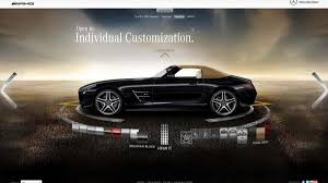 build your mercedes benz sls amg roadster with the new online