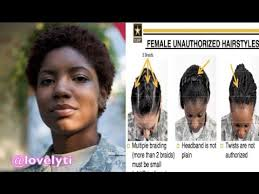 hairstyles for female army soldiers u s army is facing criticism for new regulations that unfairly