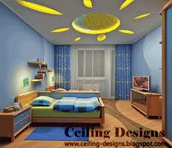 Kids Bedroom Design Ideas  Stretch Ceiling With Sun Theme Kids - Design for kids bedroom