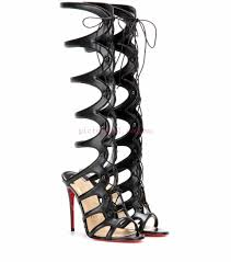 black smart amazoulo 100 leather lace up sandals christian