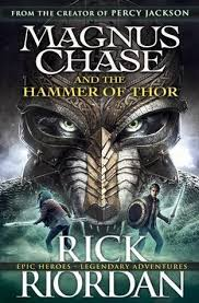 magnus chase and the hammer of thor by rick riordan fictional