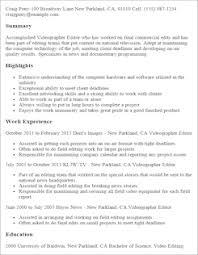 Entertainment Resume Template Media U0026 Entertainment Resume Templates To Impress Any Employer