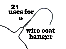 21 uses for a wire coat hanger youtube 21 uses for a wire coat hanger