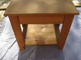 Pine End Tables New Knotty Pine End Tables 5 29364