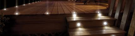 led deck stair lighting decksdirect