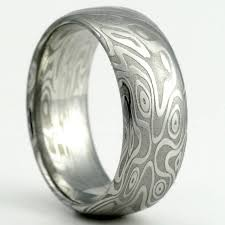 steel rings images Anyone 39 s hubby have a damascus steel ring pics jpg