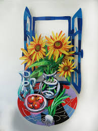 Sculpture Metal Murale by Catto Gallery Metal Wall Sculptures