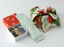 wedding gift japanese recommended furoshiki gift conpeitoh set japanese green tea