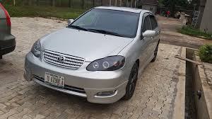 toyota corolla pimped pimped clean toyota corolla sport edition 2004 for just n1