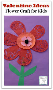 ideas flower craft for kids