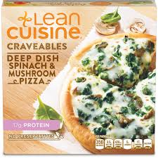 cuisine pizza dish spinach pizza lean cuisine