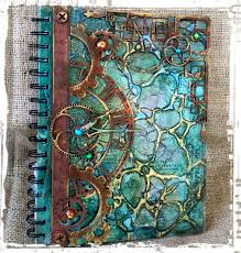 such a pretty mess video tutorial mixed media art journal cover
