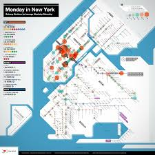 busiest subway stops in nyc mapping new york