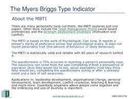 myers briggs type indicator mbti u0026 team building