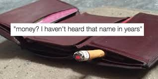 Spongebob Wallet Meme - this new meme takes crab with a cigarette to a whole new level