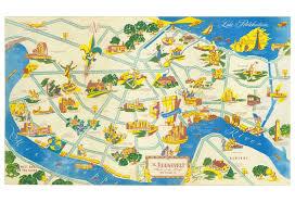 Map Of New Orleans Hotels by Roosevelt Hotel New Orleans 1951 Menu Art U2013 Love Menu Art