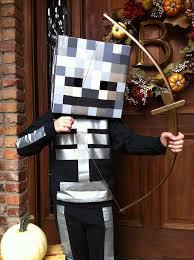 Steve Minecraft Halloween Costume Minecraft Skeleton Costume Google Halloween