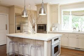 Kitchen Marble Top Delicate White Kitchen With Fabulous Cabinetry And Big Fridge Also