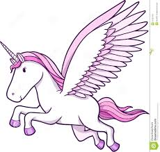 unicorn pegasus vector illustration stock photo image 11623150