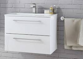 Bathroom Sinks With Storage Bathroom Furniture Cabinets Free Standing Furniture Diy At B Q