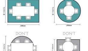 Dining Room Rug Size Decor Idea - Dining room rug size