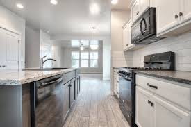 Two Tone Kitchen by Head Over Heels For This Two Tone Kitchen Ashen White Granite On