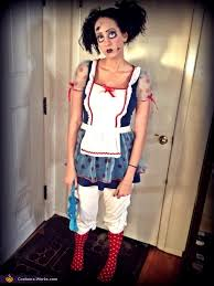 creepy doll costume creepy doll diy costume
