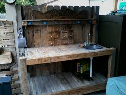 Inexpensive Potting Bench by Potting Bench I Built For Ann Marie It Has A Stainless Sink And