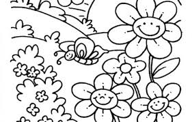 spring coloring pages printable spring coloring pages for