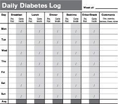 diabetes blood sugar logs printable diabetes testing log book tracking your test results