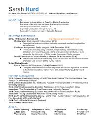 Public Speaking Skills Resume Resume U2013 Sarah J Hurd