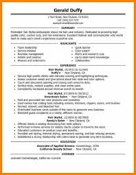 Hair Stylist Resume Template 3 Hair Stylist Resume Templates Character Refence