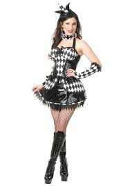 harlequin halloween costumes womens clown costumes