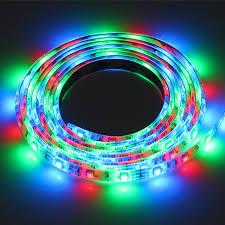 amazon com lemonbest 2m 6 5ft 120leds resin flexible color