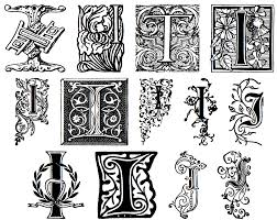 pape of south florida decorative letters