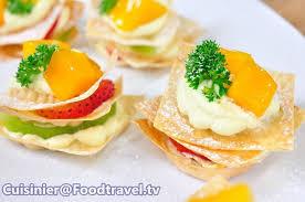 m canape คานาเป ผลไม รวม fruit canape foodtravel tv ส ตรอาหาร ทำอาหาร