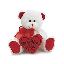 teddy valentines day white happy s day plush teddy