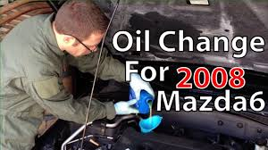 changing oil on a u002708 mazda6 youtube