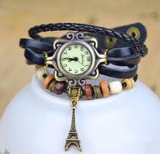 vintage leather bracelet watches images New arrivals high quality women genuine leather vintage watch jpg