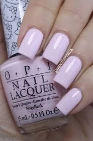 White Pink Nail